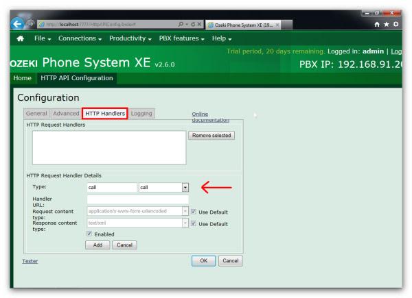 Ozeki VoIP PBX - How to setup HTTP API service in Ozeki
