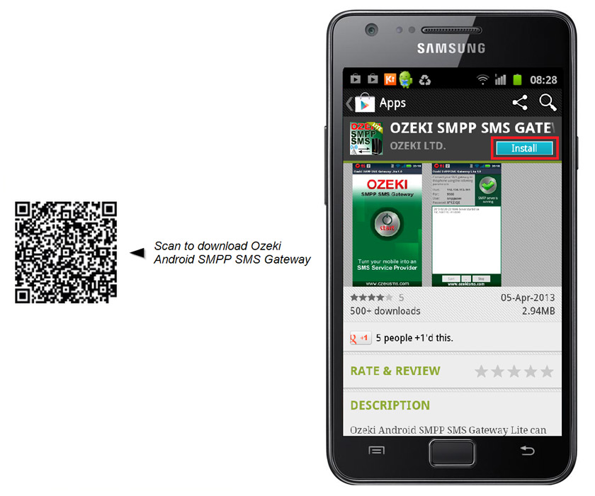 How to send SMS with Ozeki Android SMPP SMS Gateway - …