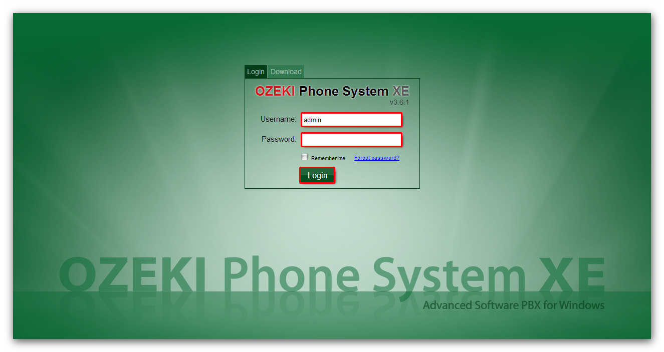 How to connect Ozeki Phone System XE to an Asterisk PBX
