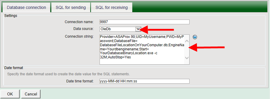 Setup Sybase Sql Anywhere For Sending And Receiving Sms
